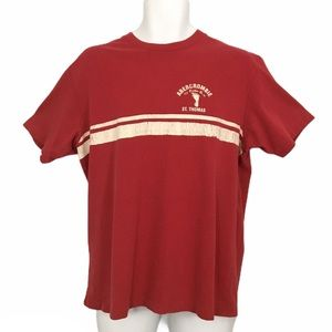 VTG 90's Abercrombie & Fitch Red T Shirt L Mens